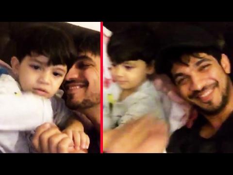 Arjun Bijlani & His Son's CUTE Moments |