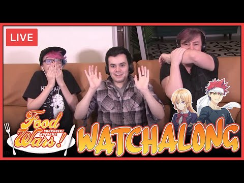 Live Watchalong! Food Wars on Crunchyroll! | Thomas Sanders