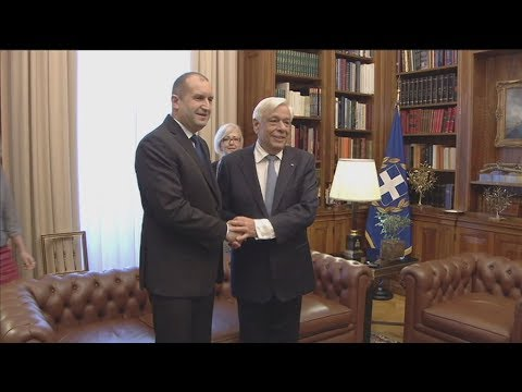 Στην Αθήνα ο Βούλγαρος πρόεδρος