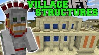 Minecraft: VILLAGE STRUCTURES (DUNGEONS, EPIC TRAPS, NEW VILLAGES,&MORE!) Mod Showcase