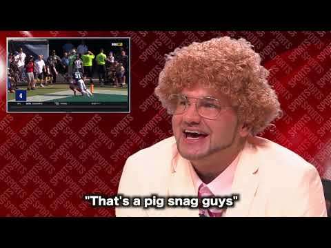Riff Raff AKA CHUCK BORDEN SPORTS AT 7 announcing highlights is GOLD