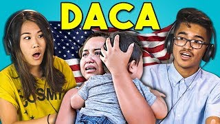 Video TEENS REACT TO DACA (ILLEGAL IMMIGRATION POLICY) MP3, 3GP, MP4, WEBM, AVI, FLV Agustus 2018
