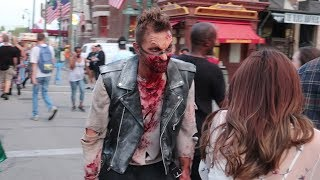 They Transformed Me Into A Scare Actor At Halloween Horror Nights For A Night! | Vamp 85