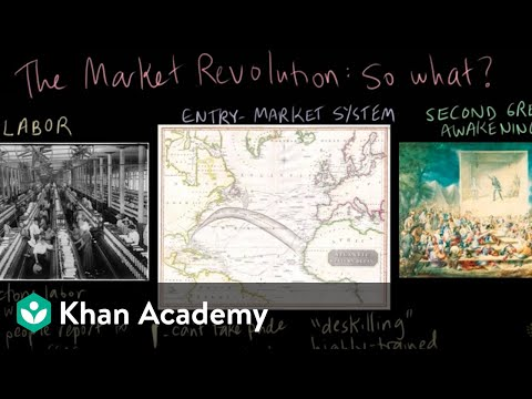 what was the market revolution