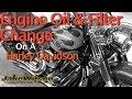 Engine Oil Change On A Harley Davidson