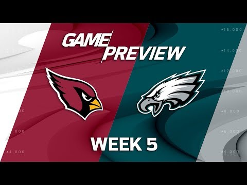 Video: Arizona Cardinals vs. Philadelphia Eagles | Week 5 Game Preview | Move the Sticks