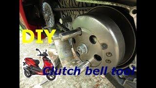 7. How to change belt on Aprilia scooter - hard vs. easy way