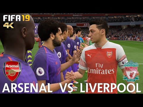 FIFA 19 (PC) Arsenal Vs Liverpool | PREMIER LEAGUE MATCH PREDICTION | 3/11/2018| 4K 60FPS
