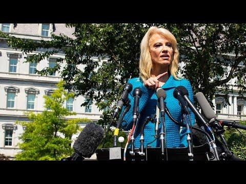 USA: Trump-Beraterin Conway sorgt für nächsten Eklat