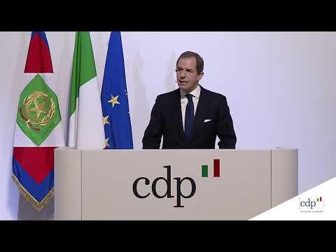 L'intervento di Giovanni Gorno Tempini, Presidente Cassa Depositi e Prestiti - CDP 170