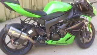 10. 2012 Kawasaki ZX-6R @ United Cycle
