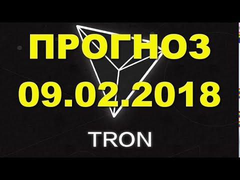 TRX/USD — TRON прогноз цены / график цены на 09.02.2018 / 9 февраля 2018 года