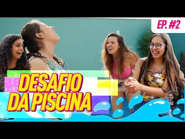 DESAFIO DE PATINS + PISCINA - TACIELE ALCOLEA - Taciele Alcolea