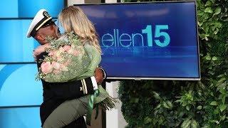 Video Ellen Reunites Superfan with Her Navy Boyfriend MP3, 3GP, MP4, WEBM, AVI, FLV Desember 2018