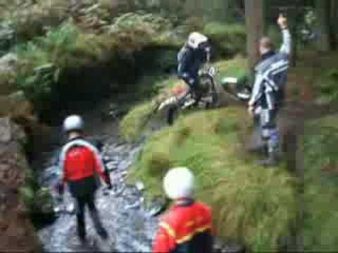 Water Trough & South Barrule manx classic trial pre 65 2008