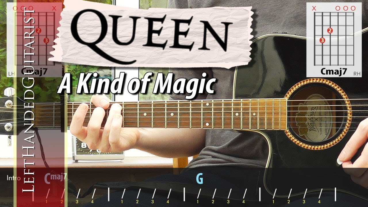 Queen – A Kind of Magic | simple guitar lesson