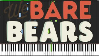 We Bare Bears Theme [Piano Tutorial] (Synthesia)