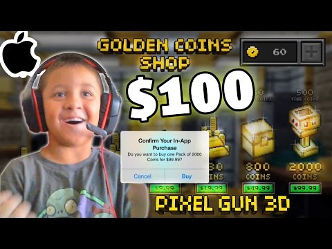 pixel - Mike spends One Hundred Dollars getting 2000 COINS! He's grounded forever! Note: this was recorded before the update! As was one additional video we have for...