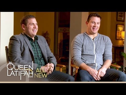 CHANNING TATUM - Queen Latifah sits down with Channing Tatum and Jonah Hill for an exclusive interview about '22 Jump Street'. SUBSCRIBE: http://bit.ly/QLsubscribe About Quee...