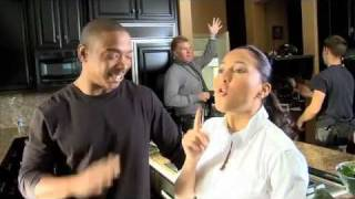 "Ja Rule & Adrienne Bailon on the set of ""I'm In Love With a Church Girl"" - YouTube"