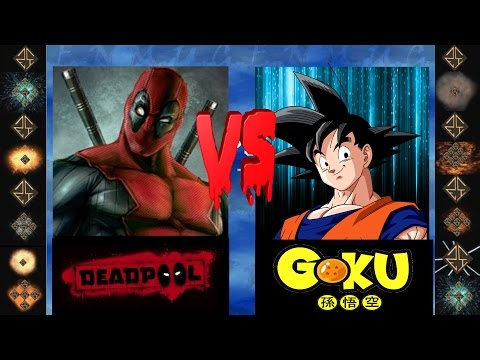 Deadpool ( Marvel Comics ) Vs Goku (Dragon Ball Z ) - Ultimate Mugen Fight 2015