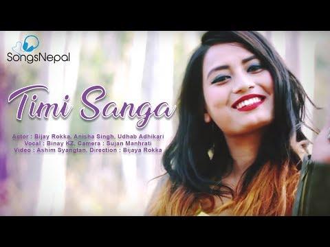 (Timi Sanga - Binay KZ | Nepali Adhunik Song | 2075/2075 - Duration: 5 minutes, 6 seconds.)