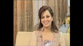 Farah Saadiya introduces Ahmad Hammad's poetry book MAHABBAT BHEEGTA JUNGLE in her famous show 'A Morning with Farah'.