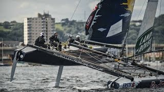High Speed Sailing in Cardiff Bay