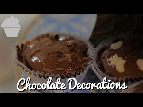 Cupcake Masterclass – Chocolate Decorations