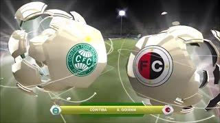 Brasileirão 2017 - Coritiba x Atlético-GO Estreia dos times no Campeonato Brasileiro 2017 ------------------ Follow me on: Twitter.com/RicardoWeskerBR Twitch.