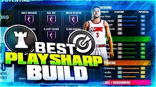 THE BEST PLAYSHARP BUILD IN NBA 2K20 - MOST OVERPOWERED POINT GUARD BUILD IN NBA 2K20