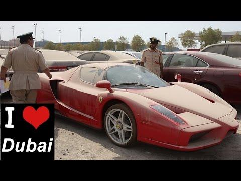 Дубай: Колдонулбай калган унаалар