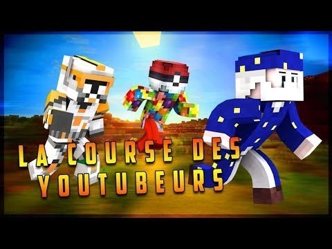LA COURSE DES YOUTUBERS 3 - MINECRAFT