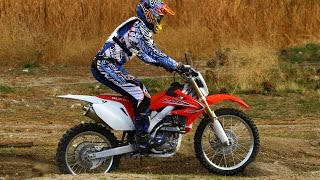 7. 2012 Honda CRF250X - Enduro Comparison Part 1 - MotoUSA
