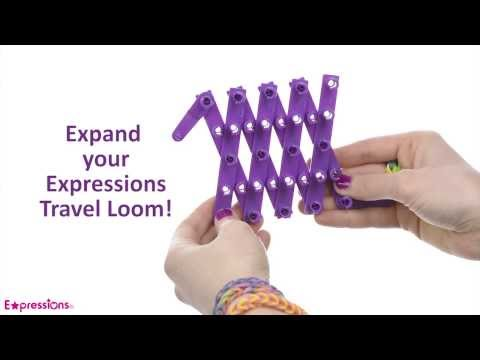 Expressions by Almar DIY – Using the Travel Loom