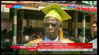 News Centre: Moi University graduation proceeding,9/23/2016