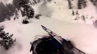 4. 2015 Yamaha SR Viper MTX Turbo 162 GoPro footage