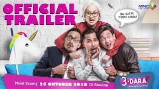 OFFICIAL TRAILER FILM 3 DARA 2 (2018) | MULAI 25 OKTOBER 2018 DI BIOSKOP