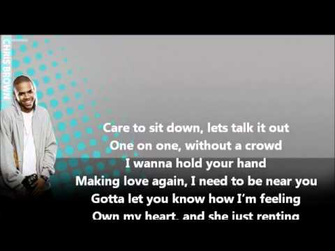 without you chris brown