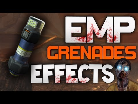 grenades - The new 'EMP Grenades' do a lot more than just stun Zombies. This video spells out all of the effects and uses. Thanks for watching! Secret Barrier Upgrade: ...