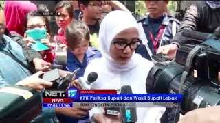 Video KPK Periksa Bupati Lebak Banten - NET17 MP3, 3GP, MP4, WEBM, AVI, FLV November 2018