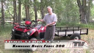 3. ATV Television - 2012 Kawasaki Brute Force 300 Long Term Test