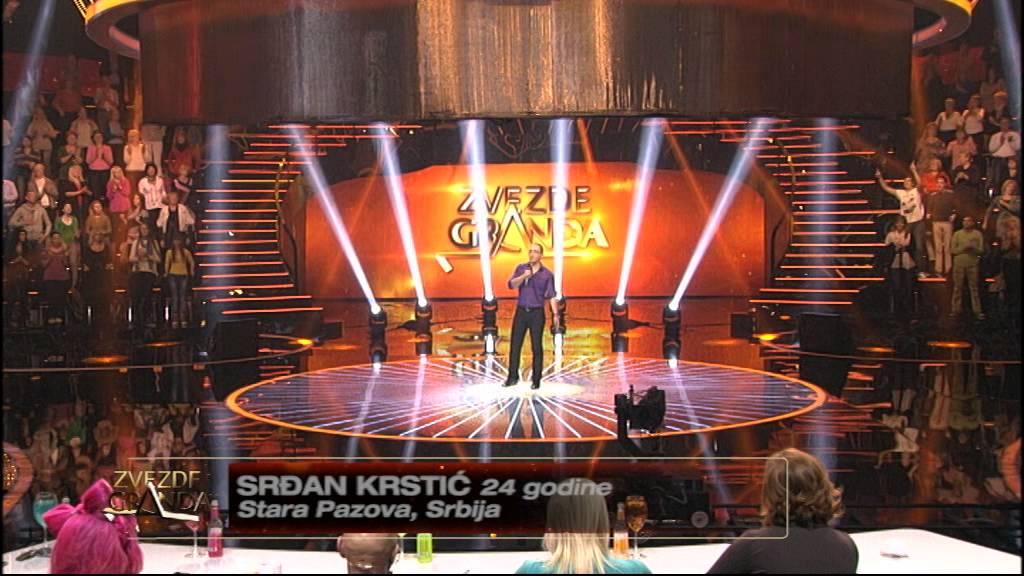 Srdjan Krstic – Kraljica trotoara – Zvezde granda 2014-2015 – emisija 13 (13. 12. – muška grupa)
