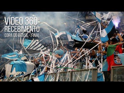 Grêmio 1 x 1 Atlético-MG - 360º do recebimento - Copa do Brasil 2016 Final - - Geral do Grêmio - Grêmio - Brasil - América del Sur