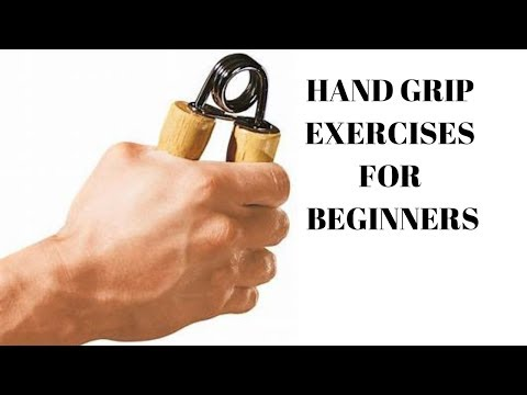 hand grip exercises for beginners