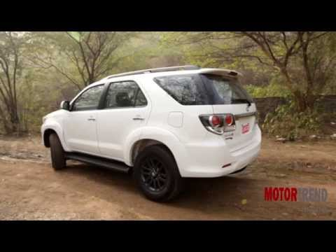 New 2015 Toyota Fortuner 4×4 Automatic Review – Motor Trend India