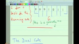 Mod-04 Lec-09 The Dual Code