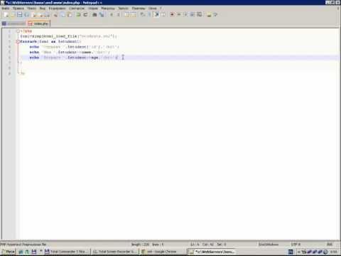 Video PHP и XML. Часть 1. download in MP3, 3GP, MP4, WEBM, AVI, FLV January 2017