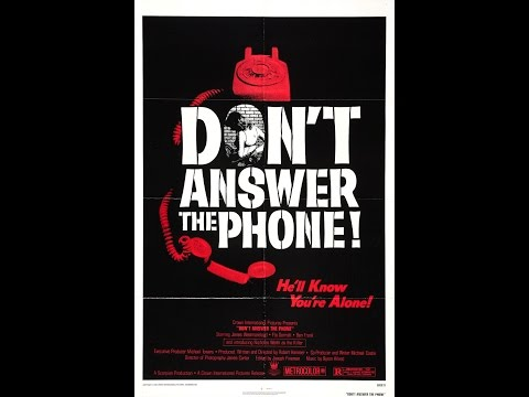 Don't Answer The Phone!(1980) Movie Review