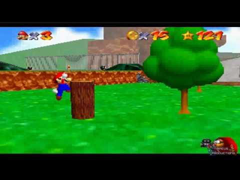 Super Mario 64: Bob-omb Battlefield Funny Tricks/Fails!